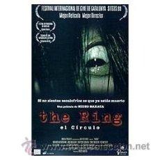 Cine: THE RING (EL CIRCULO) DVD . Lote 52585103
