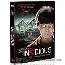 Cine: INSIDIOUS DVD . Lote 52585154