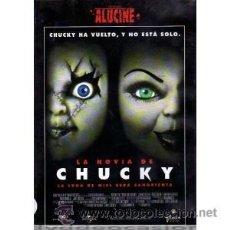 Cine: LA NOVIA DE CHUCKY DVD. Lote 52585282