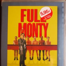 Cine: FULL MONTY (PETER CATTANEO, 1997, ROBERT CARLYLE, TOM WILKINSON, MARK ADDY) (PRECINTADA). Lote 52587212