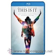 Cine: MICHAEL JACKSON'S THIS IS IT BLU RAY. Lote 52575277