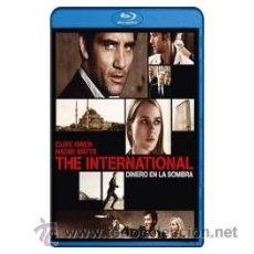 Cine: THE INTERNATIONAL DINERO EN LA SOMBRA BLU RAY. Lote 52575320