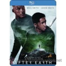 Cine: AFTER EARTH BLU RAY. Lote 52575475