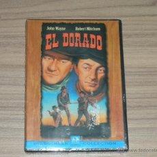 Cine: EL DORADO DVD DE HOWARD HAWKS JOHN WAYNE ROBERT MITCHUM NUEVA PRECINTADA. Lote 144205516