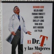 Cine: DVD EL DR. T Y LAS MUJERES - RICHARD GERE, HELEN HUNT, LIV TYLER. Lote 52757088