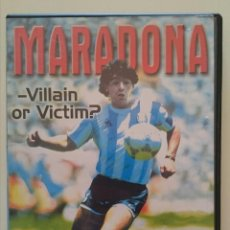 Cine: MARADONA - VILLAIN OR VICTIM? THE COMPLETE STORY. Lote 52767221
