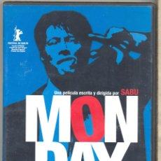 Cine: MONDAY DVD (DIR. SABU, JAPONES) LA MEJOR Y MAS LOGRADA HISTORIA DE ESTE DIRECTOR DE CULTO. Lote 142908617