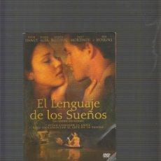 Cine: DVD , EL LENGUAJE DE LOS SUEÑOS. Lote 52857968