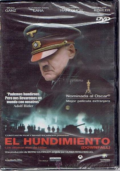 Dvd El Hundimiento Bruno Ganz Y Alexandra Maria Lara