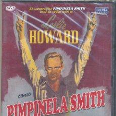 Cine: PIMPINELA SMITH DVD (LESLIE HOWARD): DESCATALOGADISIMA!! UN ESPIA QUE GOLPEABA Y... DESPARECIA.. Lote 111390855