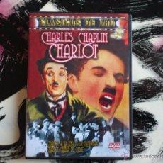 Cine: CHARLES CHAPLIN - CHARLOT - CLASICOS DE ORO - DVD - A LA UNA DE LA MADRUGADA - CAMBIA DE OFICIO. Lote 52940919