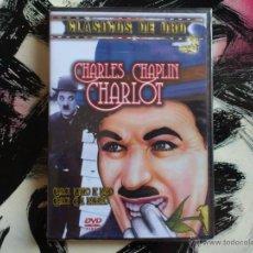 Cine: CHARLES CHAPLIN - CHARLOT - CLASICOS DE ORO - DVD - PORTERO DE BANCO - EN EL BALNEARIO. Lote 52941961