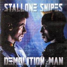 Cine: DVD DEMOLITION MAN STALLONE - SNIPES. Lote 52970824