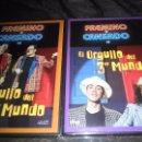 Cine: FAEMINO Y CANSADO, EL ORGULLO DEL TERCER MUNDO,PRECINTADOS,NUEVOS SIN USO.DVD 1 Y DVD 4. Lote 52981492