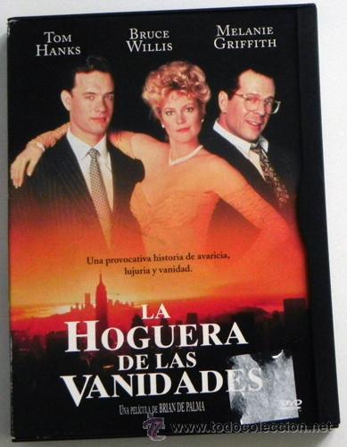 La Hoguera De Las Vanidades Dvd Pelicula Suspense T Hanks M Griffith M Freeman Bruce Willis