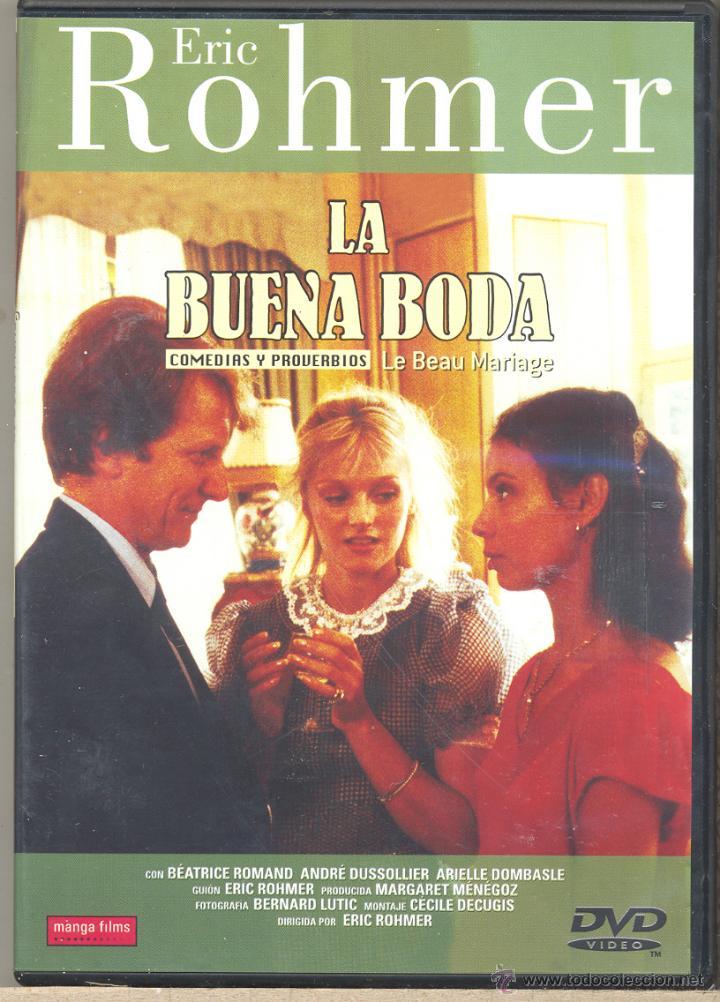 LA BUENA BODA DVD (E- ROHMER) SE CANSÓ DE SU AMANTE. ROMPIÓ CON EL Y SE LANZÓ A POR EL MARIDO IDEAL (Cine - Películas - DVD)