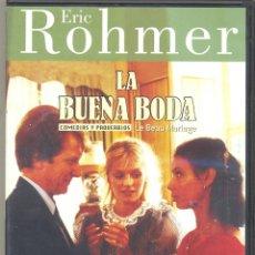 Cine: LA BUENA BODA DVD (E- ROHMER) SE CANSÓ DE SU AMANTE. ROMPIÓ CON EL Y SE LANZÓ A POR EL MARIDO IDEAL. Lote 40313685