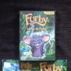 Cine: LA ISLA DE FURBY - DVD ESPAÑOL INGLES - FURBY HA VUELTO . Lote 53026290