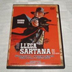 Cine: DVD LLEGA SARTANA CON GIANNI GARKO DIRECTOR ANTHONY ASCOTT. Lote 53033907