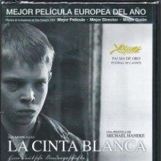 Cine: CINE: LA CINTA BLANCA *PELÍCULA DVD VÍDEO* MICHAEL HANEKE. Lote 53048911