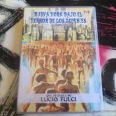 Cine: NUEVA YORK BAJO EL TERROR DE LOS ZOMBIES - ZOMBI 2 - DVD - LUCIO FULCI. Lote 53051271