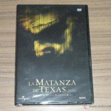 Cine: LA MATANZA DE TEXAS (2004) DVD UNIVERSAL NUEVA PRECINTADA. Lote 261663225