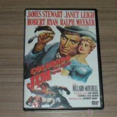 Cine: COLORADO JIM DVD DE ANTHONY MANN JAMES STEWART ROBERT RYAN NUEVA PRECINTADA. Lote 194504593