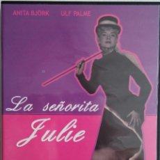 Cine: LA SEÑORITA JULIE - ALF SJOBERG - DESCATALOGADO - DVD. Lote 53146060