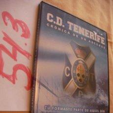 Cine: DVD CRONICA DE UN ASCENSO - CLUB DEPORTIVO TENERIFE - ENVIO GRATIS A ESPAÑA. Lote 53151477
