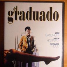 Cine: EL GRADUADO. DVD DE MIKE NICHOLS. CON ANNE BRANCROFT, DUSTIN HOFFMAN Y KATHERINE ROSS. COLOR. . Lote 53154909
