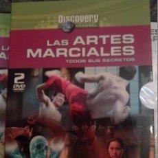 Cine: LAS ARTES MARCIALES,TODOS SUS SECRETOS. 2 DVD. DISCOVERY, NUEVOS. EN ESTUCHE.. Lote 53168631