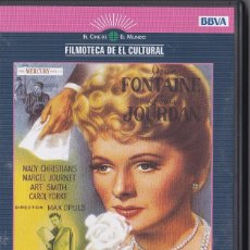 Cine: CARTA DE UNA DESCONOCIDA - MAX OPULS - JOAN FONTAINE, LOUIS JOURDAN. Lote 53176666
