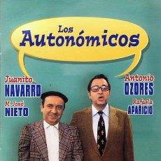 Cine: DVD LAS AUTONÓMICOS JUANITO NAVARRO - ANTONIO OZORES. Lote 53177061