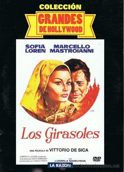 DVD LOS GIRASOLES SOFIA LOREN - MARCELLO MASTROIANNI (Cine - Películas - DVD)