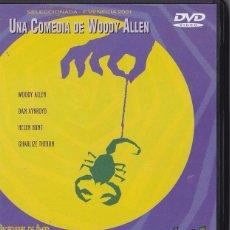 Cine: LA MALDICIÓN DEL ESCORPIÓN DE JADE - WOODY ALLEN - DAN AYKROYD, C. THERON Y HELEN HUNT.. Lote 53177718