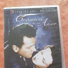Cine: DVD CRÓNICA DE UN AMOR (1950) - MICHELANGELO ANTONIONI - LUCIA BOSÉ. Lote 53181623