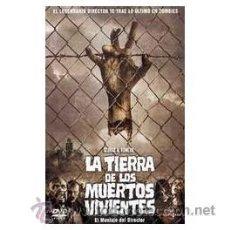 Cine: LA TIERRA DE LOS MUERTOS VIVIENTES DVD. Lote 53211547