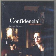 Cine: CONFIDENCIAL (JACQUES RIVETTE) DESCATALOGADISIMA... Y BUSCADA POR MUCHOS. PRECINTADA. Lote 53262939