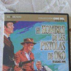 Cine: EL HOMBRE DE LAS PISTOLAS DE ORO (DVD). Lote 53263913