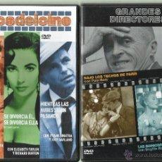 Cine: CINE: GRANDES DIRECTORES + MITOS DEL CINE. 2 DVDS ALFRED HITCHCOCK. Lote 53264151
