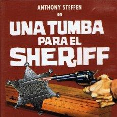 Cine: DVD UNA TUMBA PARA EL SHERIFF ANTHONY STEFFEN. Lote 53313412
