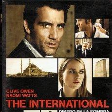 Cine: DVD THE INTERNATIONAL DINERO EN LA SOMBRA CLIVE OWEN. Lote 53314298