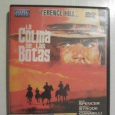 Cine: DVD LA COLINA DE LAS BOTAS. Lote 53348446