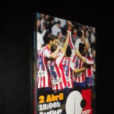Cine: DVD / REAL MADRID 0 - 1 SPORTING DE GIJON / 2 DE ABRIL 18:00 / SANTIAGO BERNABEU. Lote 53351832