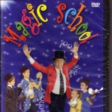 Cine: DVD MAGIC SCHOOL. APRENDE TRUCOS DE MAGIA. MULTIIDIOMA, PRECINTADO. Lote 53372473