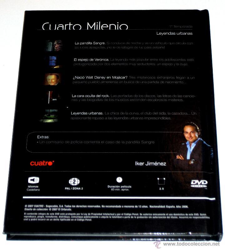 cuarto milenio colección - nº 7 : leyendas urba - Kaufen Filme auf ...