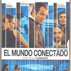 Cine: EL MUNDO CONECTADO DVD (FASSBINDER) ¿ERA FASSBINDER UN VISIONARIO? ...UNA RAREZA MUY BUSCADA. Lote 237484990