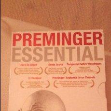 Cine: PACK 5 DVD DESCATALOGADO PREMINGER ESSENTIAL. OTTO PREMINGER. PRECINTADO! MUY DIFICIL. . Lote 53453628