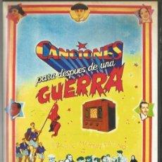 Cine: DVD - CANCIONES PARA DESPUES DE UNA GUERRA - DIRECTOR: BASILIO MARTIN PATINO. Lote 53522142