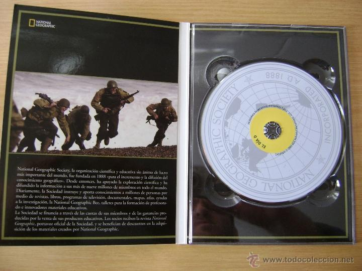 Cine: DVD DOCUMENTAL ,EL DIA D NORMANDIA DE NATIONAL GEOGRAPHIC. - Foto 3 - 53581386